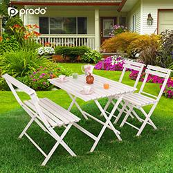 Prado Adaliss Bahçe Masa Takımı - Beyaz