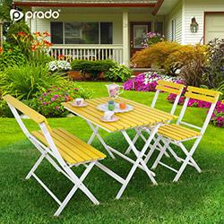 Prado Adaliss Bahçe Masa Takımı - Sarı
