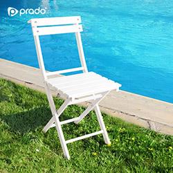 Prado Adaliss Katlanır Sandalye - Beyaz