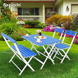 Prado Adaliss Bahçe Masa Takımı - Mavi