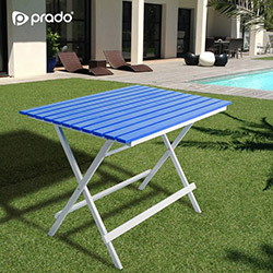 Prado Adaliss Katlanır Bahçe Masası - Mavi