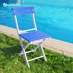 Prado Adaliss Katlanır Bahçe Sandalyesi - Mavi