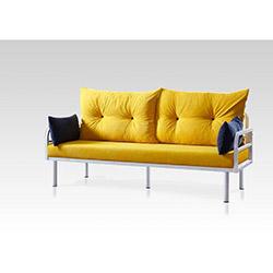 Sigma Tasarım Hira 3'lü Kanepe - Sarı