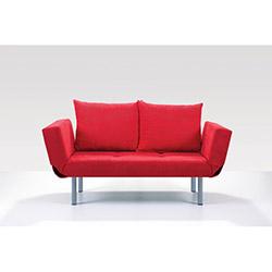 Comfy Home Porto İkili Kanepe - Kırmızı