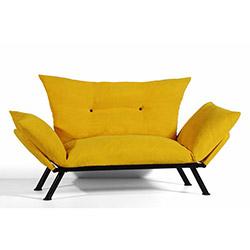 Sigma Tasarım Doğa 2'li Kanepe - Sarı