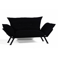 Sigma Tasarım Doğa 2'li Kanepe - Siyah