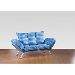 Sigma Tasarım Doğa Örgü 2'li Kanepe - Mavi