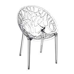 Siesta Crystal Sandalye - Şeffaf