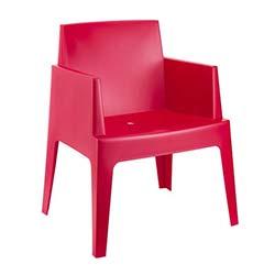 Siesta Box Sandalye - Kırmızı