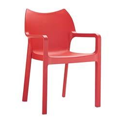 Siesta Diva Sandalye - Kırmızı