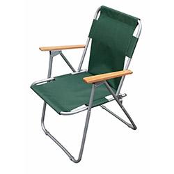 Siesta 517 Ahşap Kollu Piknik Sandalyesi - Yeşil