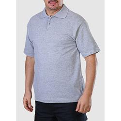 Endüstri Giyim is82-034 Polo Yaka T-shirt (Gri) - 2XL