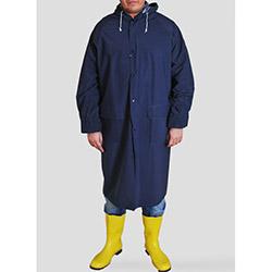 Turpex dg21-023-00 Pvc İthal Yağmurluk (Lacivert) - XL