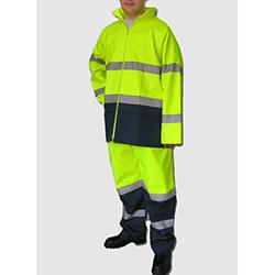 Turpex dg21-009-04XL Oxfort Yağmurluk Ceket Pantolon - XL
