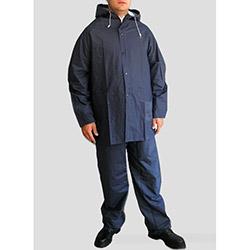 Turpex dg21-012-01XL Pvc İthal Yağmurluk Ceket Pantolon (Lacivert) - XL