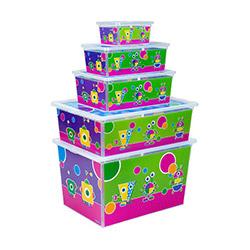 Qutu 5'li Sponges Light Box Kutu