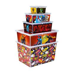 Qutu 5'li Cartoons Light Box Kutu
