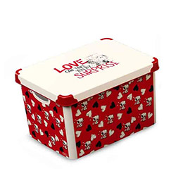 Qutu 013 Snoppy Love Box Kutu