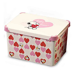 Qutu 014 Snoppy Love Box Kutu