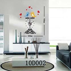Karin 10 D 002 Sticker Saat - 73x53 cm
