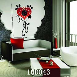Karin 10 D 043 Sticker Saat - 60x33 cm