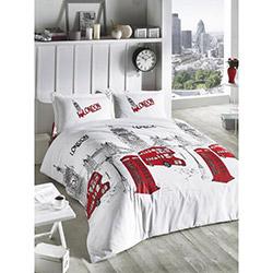 Aran Clasy London Çift Kişilik Ranforce Uyku Seti - Kırmızı
