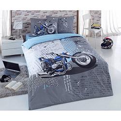 Örtüm Speed Tek Kişilik Nevresim Takımı - Mavi