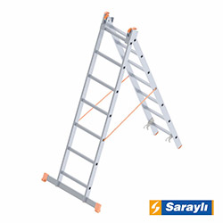 Saraylı Endüstriyel A Tip Merdiven - 3 m