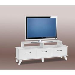 Stile Moda Tv Sehpası - Parlak Beyaz