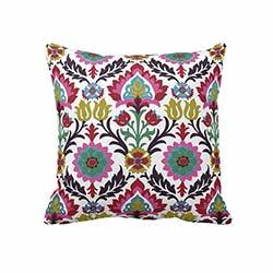Beauty Crafts Suzani Dekoratif Yastık - 43x43 cm