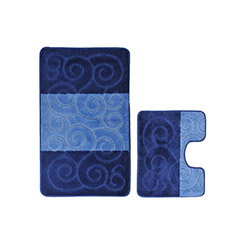 Confetti Şile 2'li Klozet Takımı - Koyu Mavi