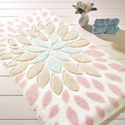 Confetti Essence Banyo Halısı (Pudra) - 55x57 cm