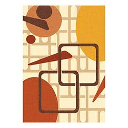 Confetti Aydın Bukle Dekoratif Halı (Kızıl Kahve) - 57x90 cm