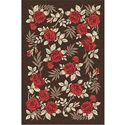 Confetti Yalova Bukle Dekoratif Halı (Kırmızı) - 57x90 cm