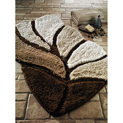 Confetti Arsus Banyo Halısı (Kahve) - 55x60 cm
