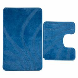 Confetti Homestyle 3451 Oyuklu 2'li Klozet Takımı - Mavi