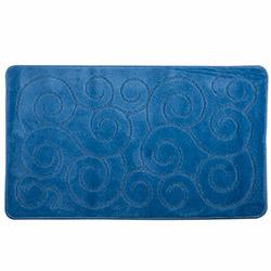 Confetti Feridras Şile Banyo Paspası (Mavi) - 60x100 cm
