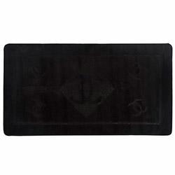 Confetti Mattex Banyo Paspası (Siyah) - 70x130 cm