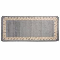 Confetti Tc Semicolor-2 Banyo Paspası (Gri/Ekru) - 70x150 cm