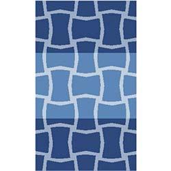 Confetti Sarıyer Banyo Halısı Koyu Mavi - 60x100 cm