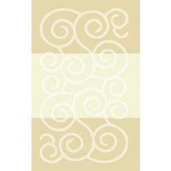 Confetti Şile Banyo Halısı Kemik - 60x100 cm