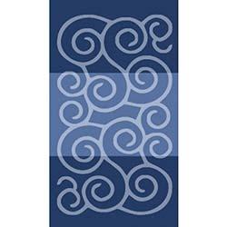 Confetti Şile Banyo Halısı Koyu Mavi - 60x100 cm
