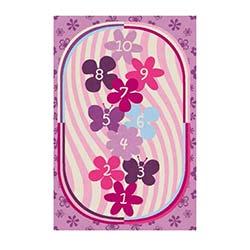 Confetti Violet Çocuk Halısı Lila - 133x190 cm