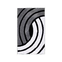 Confetti Nora Simli Banyo Halısı Karbeyaz - 60x100 cm