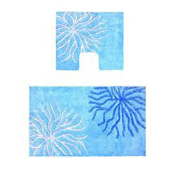 Confetti Myra Simli 2'li Klozet Takımı - Pastel Mavi