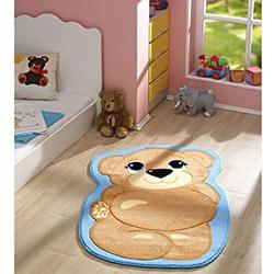 Confetti Teddy Bear Çocuk Halısı Turkuaz - 80x127 cm