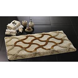 Confetti Hermos Banyo Halısı Altın - 60x100 cm