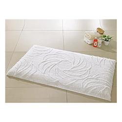 Confetti Alara Simli Banyo Halısı Karbeyaz - 55x60 cm
