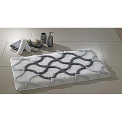 Confetti Hermos Banyo Halısı Gri - 55x60 cm