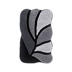 Confetti Arsus Banyo Halısı Siyah - 70x120 cm